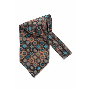 Buzz Blue Floral Cravat For Men By The Tie Hub