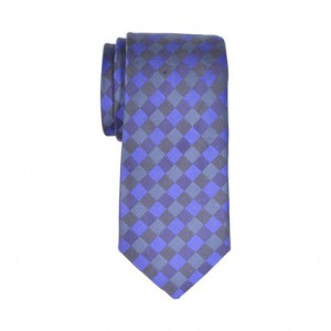 Necktie - Sunset - blue Cotton Slim Necktie