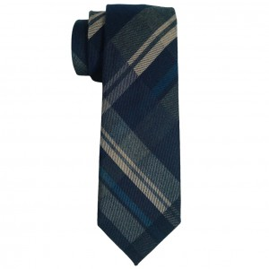 Reprint Plaid Cotton Necktie
