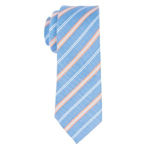 Rangle Sky Blue Stripe Necktie By The Tie Hub