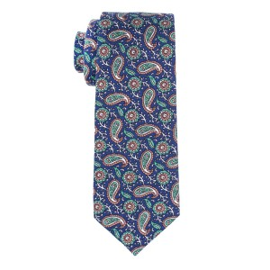 Repine Paisly Blue Necktie By The Tie Hub