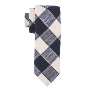 Blue bell Checkerd Cotton Necktie