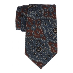 Self Blue 100% Khadi Necktie