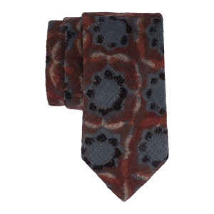 Blue and Maroon 100% Khadi Necktie