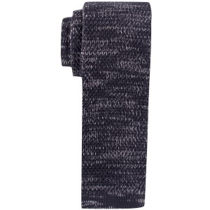 Constellation Solid Black Knitted Necktie by The Tie Hub
