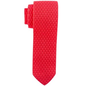 Solid Red  Knitted Necktie
