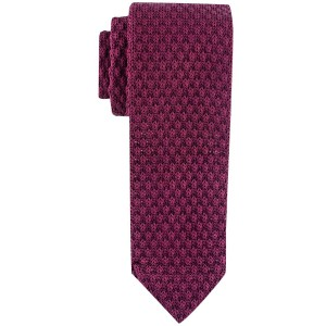 Solid Maroon Knitted Necktie