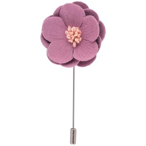 Lapel Pin - Pink Lotus