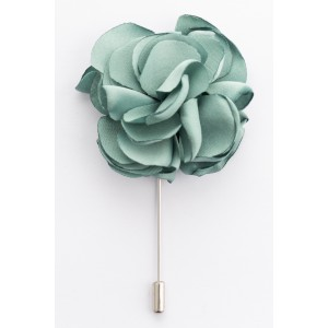 Green marigold Lape pin