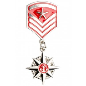 Ark Red Star badge Lapel Pin