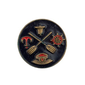 Navy Badge Metal Lapel Pin