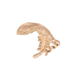 Small Gold Fether Lapel Pin