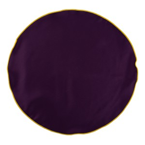 PURPLE WITH YELLOW BORDER  POCKET CIRCULAR