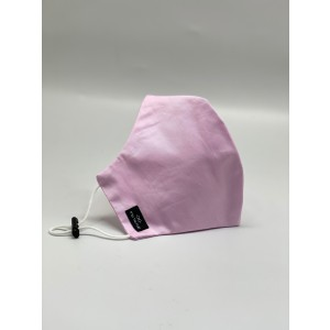 Pink Solid 100% Premium Cotton Reusable Face Mask
