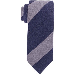 Refinado Blue And Grey Striped Necktie By The Tie Hub