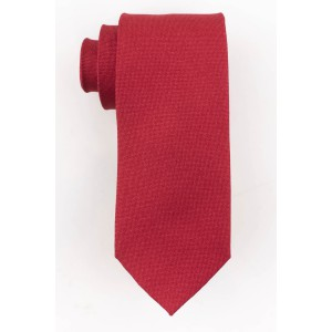 Cardinal Solid Red 100% Silk Necktie