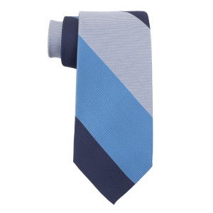Blues Stripe Silk Necktie