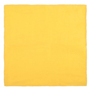 Solid Yellow Pocket Square