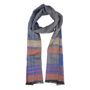 Oliver Multicolor Reversible Scarf by The Hub