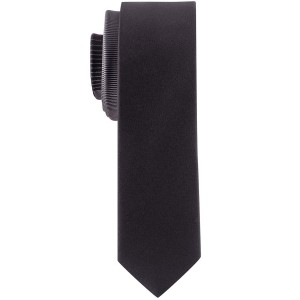 Studded Stripe Pink and Black Handmade Microfiber Necktie
