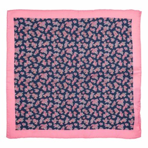 Mix Paisley Pink 100% Silk Pocket Square For Men