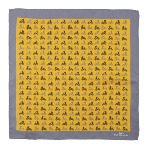 Yellow Baggi 100% Silk Pocket Square