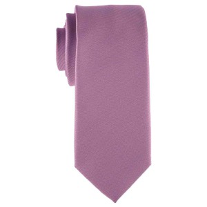 Striker Solid Purple Microfiber Necktie