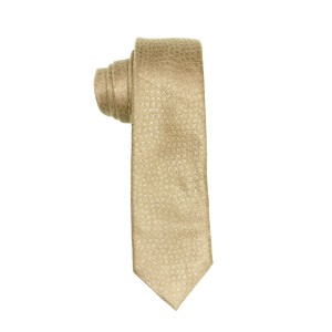 Diamond Light Brown Suede Necktie by The Tie Hub