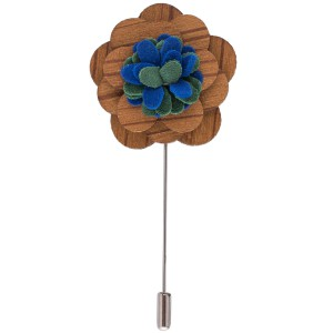 Lapel Pin - Dynamite Brown