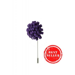 Opium Purple Lapel Pin