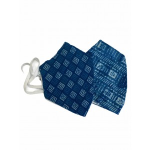 Cotton Reusable Face Mask Pack of 2