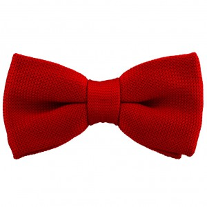 Industrial Solid Tomato Red Bowtie