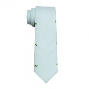 Palm Tree Cotton Neck Tie