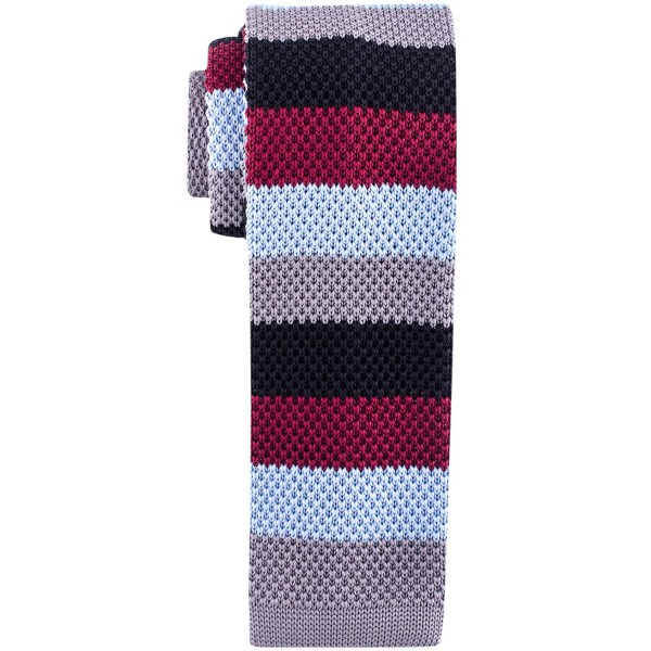 Edition Striped Multicolor Slim Knitted Necktie