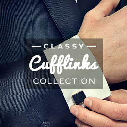 Men's Stylish Cufflinks Collection